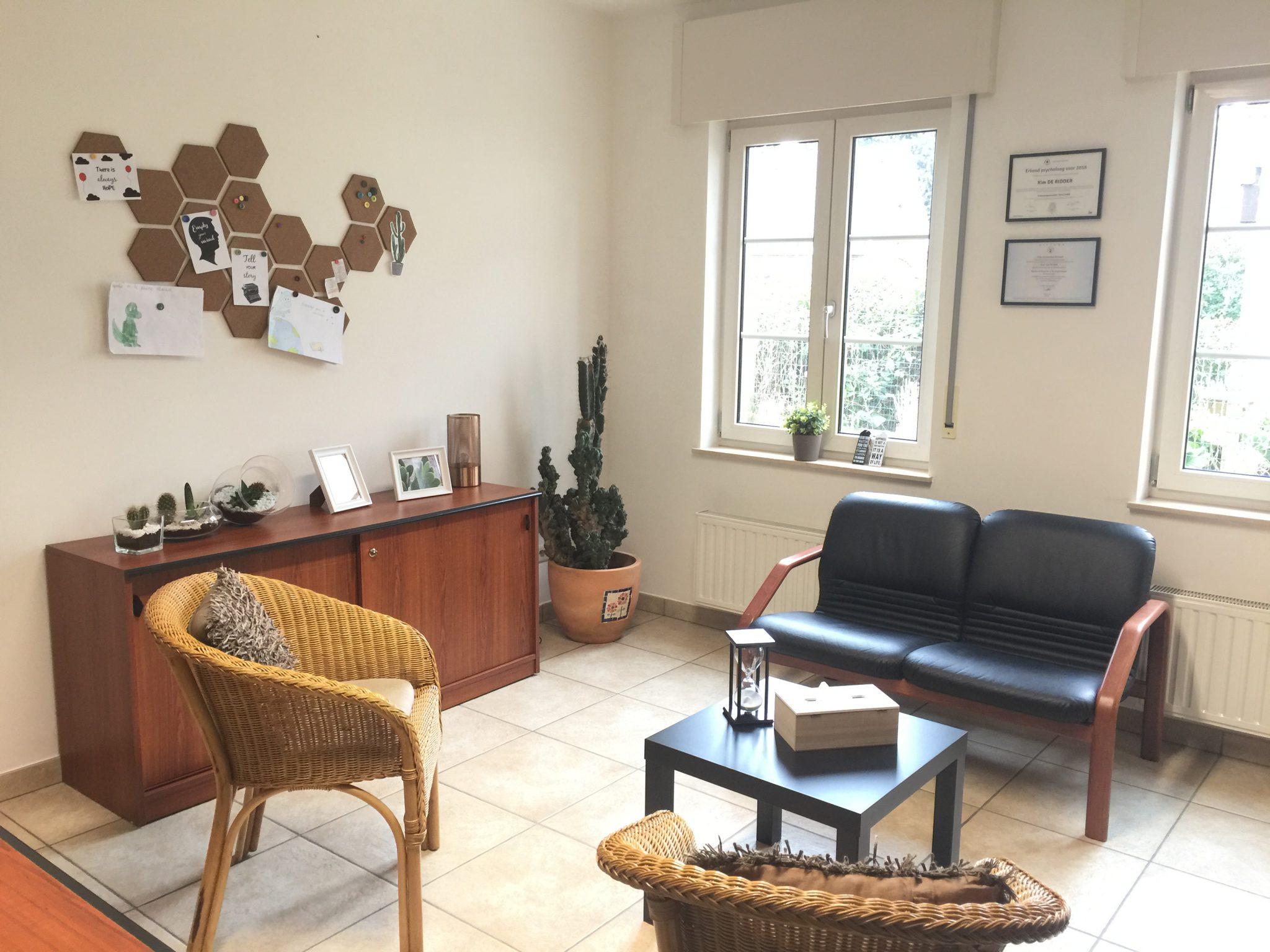 Een praktijkruimte in je eigen huis